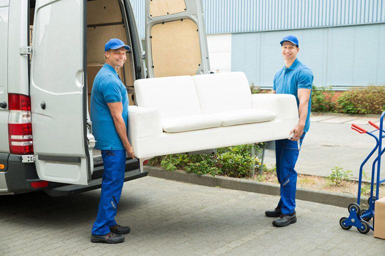 Заказать перевозку дивана