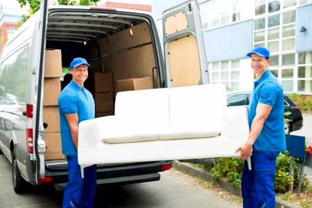 Помощь грузчиков во время переезда